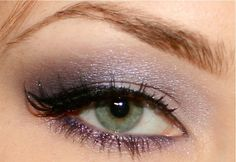 Love the color of the eyeshadow! Such a pretty shimmering lilac!
