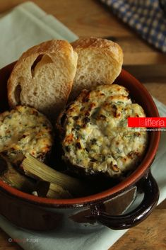 Ricotta, Meals Without Meat, Italian Recipes, Italian Foods, Fruits And Vegetables, Food For Thought, Mashed Potatoes, Side Dishes, Muffin