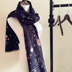 Fashion Universe Gaxaly Long Large section Warm and Soft Scarf Shawls Scarves, only US$28.5