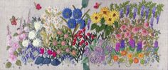First Garden Needlebook kit | The French Needle | French Needlework Kits, Cross Stitch, Embroidery, Sophie Digard