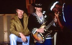 Stevie Ray Vaughan with David Bowie