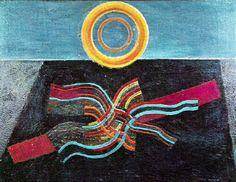 Max Ernst - Svart Sol, 1928