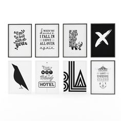 Art Picture - Black and White Art Prints on Behance