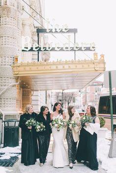 Elegant Baltimore Belvedere Hotel Wedding