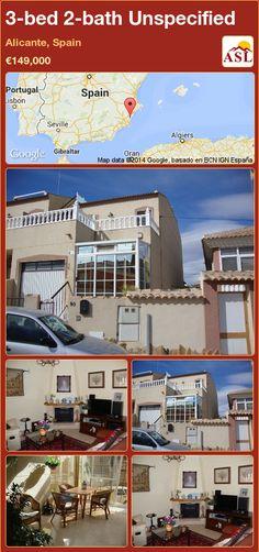 3-bed 2-bath Unspecified in Alicante, Spain ►€149,000 #PropertyForSaleInSpain