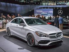 2017 Mercedes-Benz CLA Class/AMG CL45 revealed