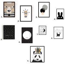 Voici une sélection d'affiches en noir et blanc que j'apprécie particulièrement ! Je pense que certaines d'entre elles rejoindront la chambre du futur baby ! 1. 2. et 3 Seventy tree ICI 4. 5. 6. et 7. Divers ICI 8. Mina Baum ICI 9. Minimel ICI