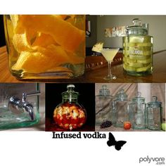 Recipes for many different flavours of vodka infusions.
