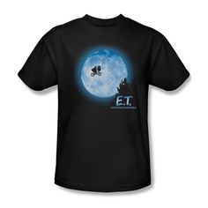 E.T. Blue Moon Men's Tee | #Sublimated #BeamerGraphicShirts