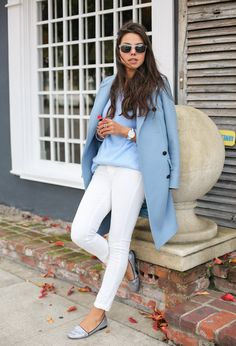 White Jeans To Work - Is Jeans