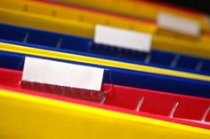 How to Organize Paperwork & Hanging Files