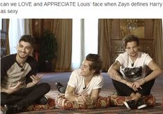Find images and videos about one direction, louis tomlinson and zayn malik on We Heart It - the app to get lost in what you love. One Direction Humor, I Love One Direction, Louis Tomlinson, Can We Love, Larry Shippers, Louis And Harry, Sassy Louis, 1d And 5sos, Hilarious