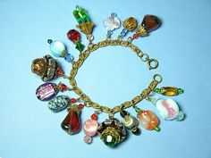 Vintage bracelet made of glass...Gorgeous!!!