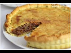 Pie de carne o pastel de carne inglés - Recetas de Isabel