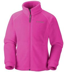 Size Medium (Foxglove color) An updated Columbia classic, this soft, cozy fleece offers instant insulation in a versatile, everyday style with a new, more active slim cut. Columbia Girls, Outdoor Apparel, Columbia Fleece, Columbia Sportswear, Pink Jacket, Columbia Jacket, Lightweight Jacket, Pink Girl, Ideas