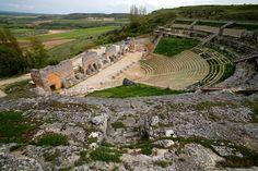 Yacimiento de la ciudad romana de Clunia #Pinares  #CastillayLeon #Spain