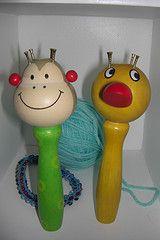 Monkey and Duck Spool Knitter (knobbyknitter)