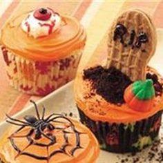 Easy Halloween Cupcakes — Punchfork