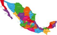 Mapa de la República Mexicana