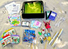 Create A Restaurant Activity Kit To Keep Kids Entertained At Dinner - Make Something Daily