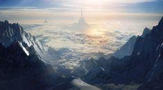 Over the Cold Mountain, by =Grivetart ᔥ deviantART.com // yeh bada sapna