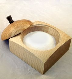 Maple & Mesquite Wood Salt Cellar | Phoenix | Richard Altenhofen | Scoutmob Shoppe | Product Detail http://scoutmob.com/p/maple-and-mesquite-wood-salt-cellar