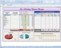 Free Wedding Budget  Excel Template  Wedding Expenses Weddings