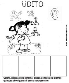 Populaire I Cinque Sensi - Lessons - Tes Teach Worksheets, Colours, Teaching, Comics, Fictional Characters, Montessori, Irene, Lab, Kids