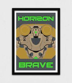 Pacific Rim Horizon Brave Poster  Jaeger by JohnTakacsDesign https://www.etsy.com/listing/223278677/pacific-rim-horizon-brave-poster-jaeger