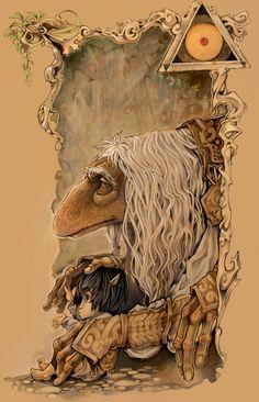 The Dark Crystal fan art...love it