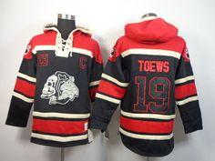 Old Time #Hockey #Chicago Blackhawks Jonathan Toews Sawyer Hooded Sweatshirt  Xxl from $69.99