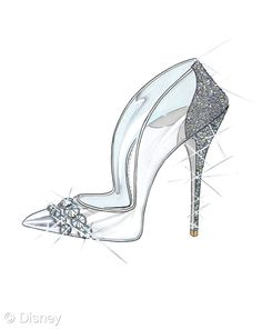 Pin for Later: If Cinderella's Glass Slipper Were Designer, This Is What It Would Look Like The Sketch: Paul Andrew