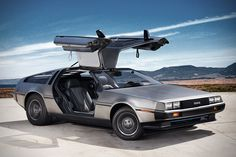 All-Electric DeLorean DMC-12 EV