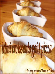 mini croissant pizz