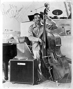 Ray Brown Jazz Artists, Jazz Musicians, Music Artists, Jazz Blues, Blues Music, Black Arts Movement, Cool Jazz, Recorder Music, Double Bass