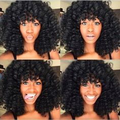 Crochet braids have become a huge trend in the couple of years. Take a look at these 40 inspiring and super trendy crochet braids hairstyles! Curly Crochet Braids, Curly Crochet Hair Styles, Crochet Braids Hairstyles, Braided Hairstyles, Curly Hair Styles, Natural Hair Styles, Curly Braids, Curly Wigs, Crochet Marley Hair