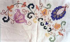 Majorcan embroidery