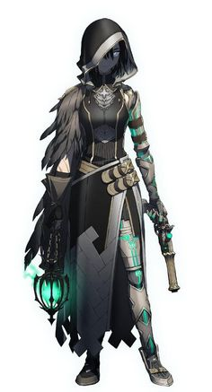 """""""This is the kind of anime design I'm here for:"""" Dungeons And Dragons Characters, Dnd Characters, Fantasy Characters, Female Characters, Female Character Design, Character Design Inspiration, Character Concept, Character Art, Fantasy Armor"""