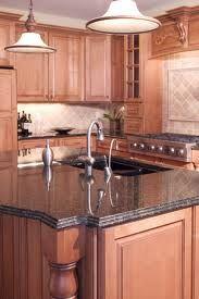 beautiful kitchens dark green granite - Google Search