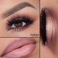 I really love the shadow & lips. Perfect match