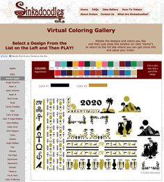 Play with color combinations for different decal designs in the Virtual Coloring Gallery.Shown here with the Ancient Egypt design. Click Home, Egypt Design, Bathroom Decals, Shower Doors, Diy Stuff, Ancient Egypt, Color Combinations, Coloring, Play