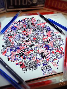 2011-2012 DOODLES Batch 1 : Notebooks & Sketchpads on Behance