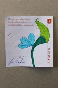 LAURA GUILLÉN ALMANAQUE CALENDAR FLOR FLOWER AMOR LOVE DIA DAY MESES MONTHS