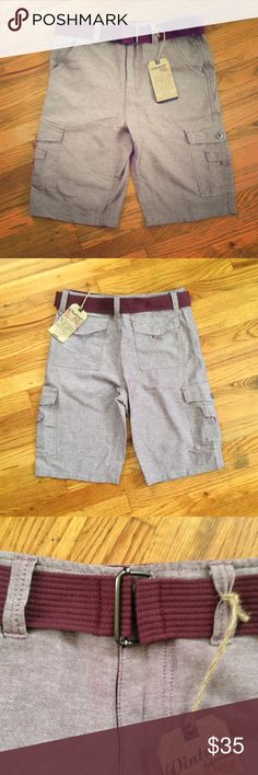 Men's Vintage Genes 1891 Burgundy Cargo Shorts NWT never worn, 100 % cotton, burgundy cargo shorts with belt. They're super soft and comfy. My husband bought them, but they just didn't fit. Reasonable offers always considered and almost always accepted. Bundle and save 15% off 3+ items. Pics 3, 5, & 7 are most true Vintage Genes 1891 Shorts Cargo