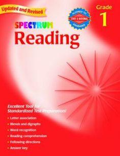 Spectrum Reading Grade 1 - Workbook