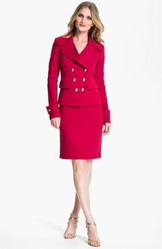 St. John Collection Jacket & Dress | Nordstrom  http://shop.nordstrom.com/c/womens-work-suiting?origin=topnav_sp=Top%20Navigation-_-Women-_-Suiting