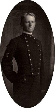 Midshipman Chester William Nimitz, future Fleet Admiral of the United States Navy.