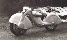 Killinger & Freund motorcycle - built in 1935 in Munich, Germany