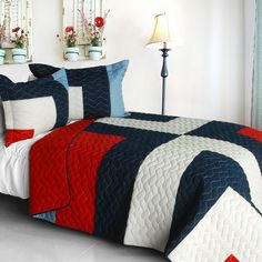 Roman Knight Quilt Set (Full/Queen Size)