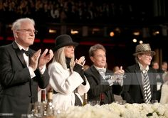 Actor Steve Martin, 45th AFI Life Achievement Award Recipient Diane Keaton, Comedian Martin Short, and actor Meryl Streep during American Film Institute's 45th Life Achievement Award Gala Tribute to Diane Keaton at Dolby Theatre on June 8, 2017 in Hollywood, California. 26658_002
